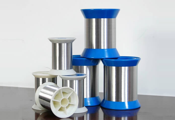 very fine stainless steel wire